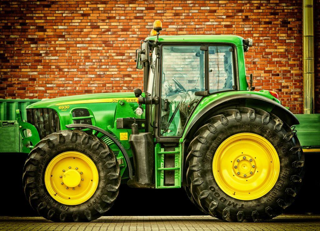 trekker of tractor